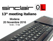 13° meeting italiano Sinclair QL